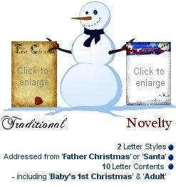 Santa Letters Examples